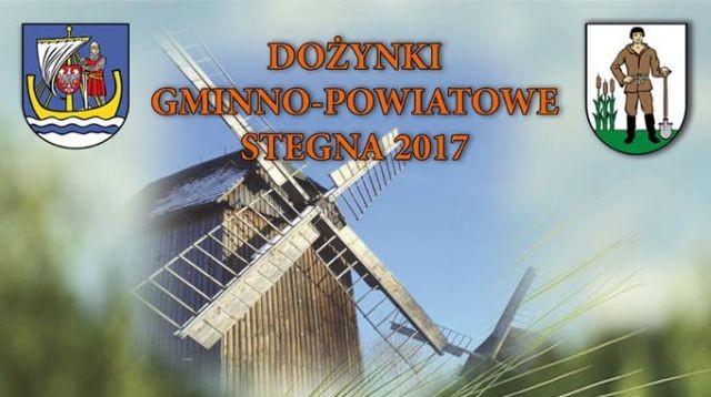 Gmina Stegna: Zapraszamy na Dożynki gminno - powiatowe - 23.09.2017