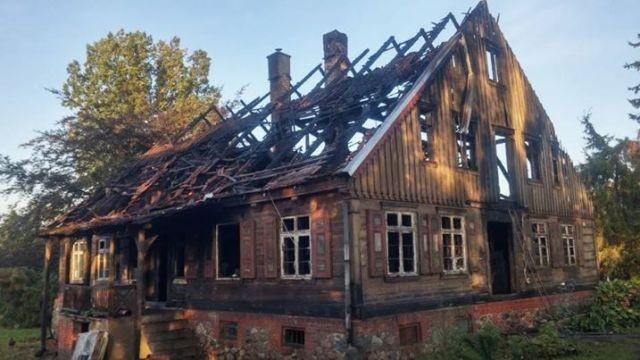 Nowy Dwór Gdański : Uwaga! Burmistrz Jacek Michalski apeluje o pomoc dla pogorzelców! - 29.09.2017