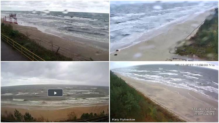 Cyklon Grzegorz przechodzi nad Polską. Zabił już 2 osoby. Zobacz obraz na żywo z kamer pogodowych