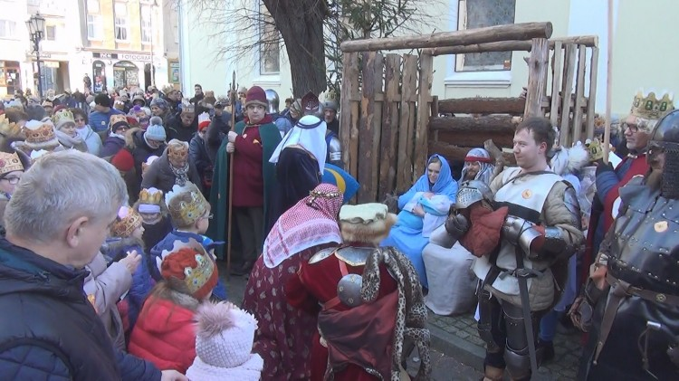 Sztumianie przemaszerowali w Orszaku Trzech Króli – 06.01.2018