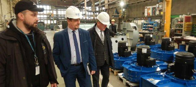 Burmistrz Malborka z wizytą w firmie Nyborg-Mawent S.A. - 05.03.2018