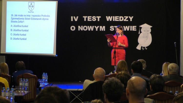 Pytania potrafiły zaskoczyć. IV Test Wiedzy o Nowym Stawie – 09.03.2018