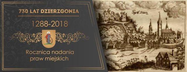 Zapraszamy na inaugurację obchodów 730 rocznicy nadania Dzierzgoniowi praw miejskich