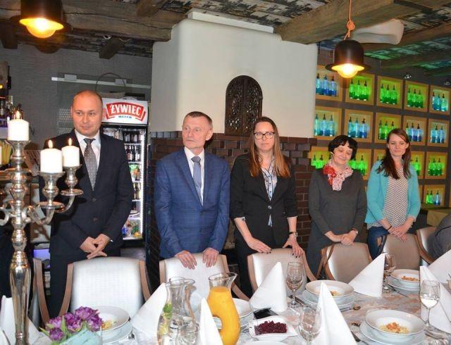 Spotkanie Burmistrza Michalskiego z Sołtysami z Gminy Nowy Dwór Gdański