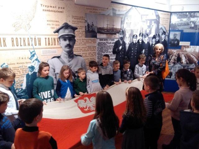 Uczniowie malborskiej Szkoły Podstawowej nr 3 z wizytą w Muzeum Wisły