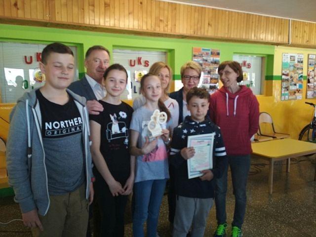 II miejsce malborskiej drużyny ze Szkoły Podstawowej nr 3 na Turnieju Wiedzy o Bezpieczeństwie w Ruchu Drogowym