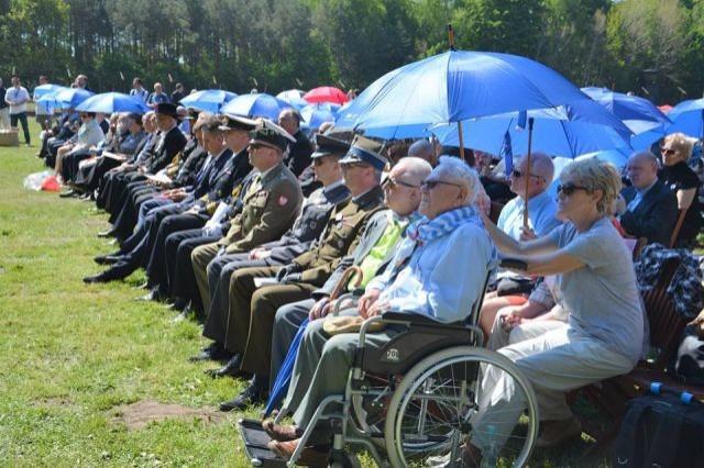 Sztutowo : Uroczystości 73. rocznicy oswobodzenia KL Stutthof