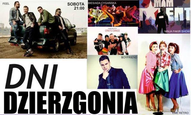 Zespół Feel gwiazdą wieczoru na Dniach Dzierzgonia! Zobacz program.