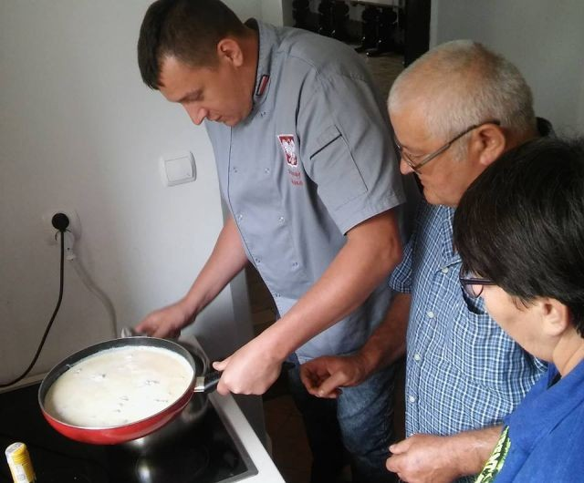 Gmina Dzierzgoń: Włoski poniedziałek w KLUBIE SENIOR +