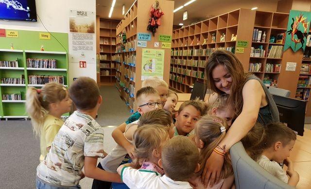 Dobra energia w malborskiej Mediatece - z Jovaną Stojanović z Serbii