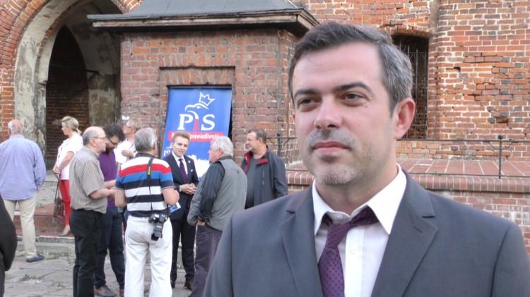 Nowe ronda, obwodnica i programy rządowe. Tomasz Klonowski przedstawił propozycje dla Malborka.
