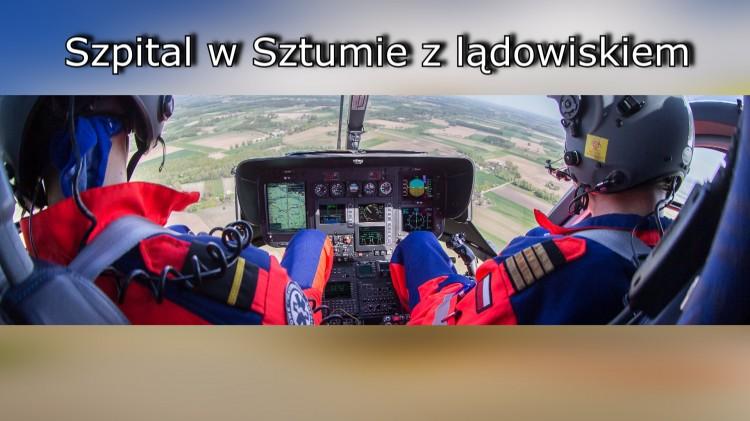 """Lądowisko oraz nowy SOR w szpitalu w Sztumie. """"Wzrasta prestiż naszej placówki"""""""