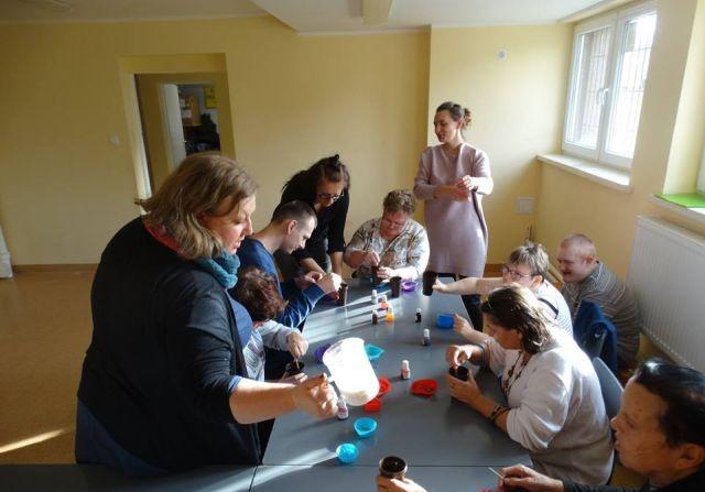 Warsztaty twórcze dla uczestników ŚDS w Czerninie, SOSW w Uśnicach oraz WTZ w Koniecwałdzie