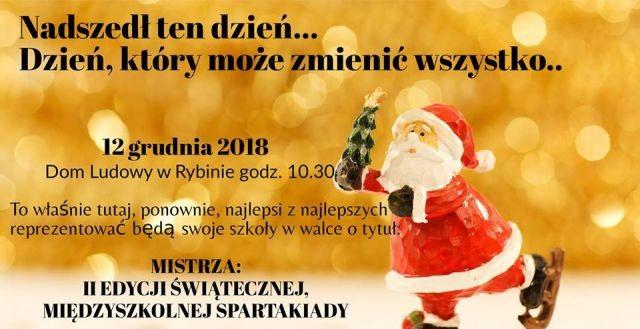 Świąteczna Spartakiada 2018 w Rybinie