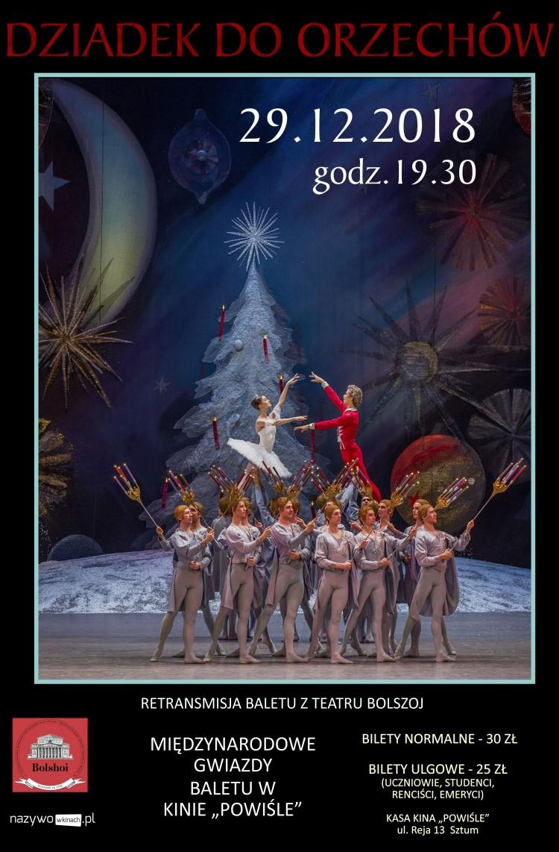 Teatr Bolszoj z Moskwy w Sztumskim Centrum Kultury.