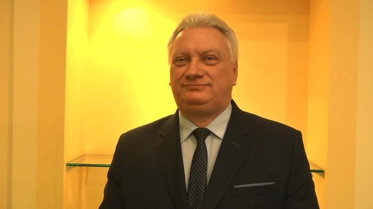 Jerzy Szałach, Burmistrz Miasta i Gminy Nowy Staw składa życzenia świąteczno-noworoczne
