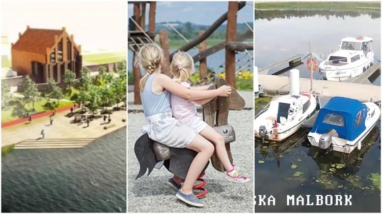 Malbork: Jest zielone światło dla modernizacji bulwaru, miejskiego placu zabaw i rozbudowy przystani.