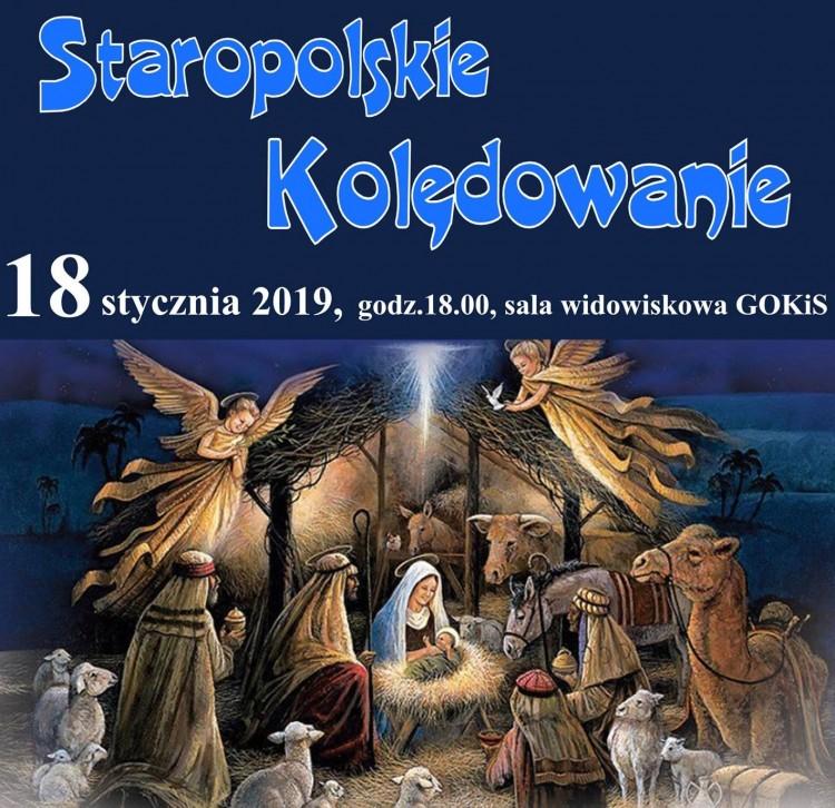 """""""Staropolskie Kolędowanie"""" w Starym Polu."""