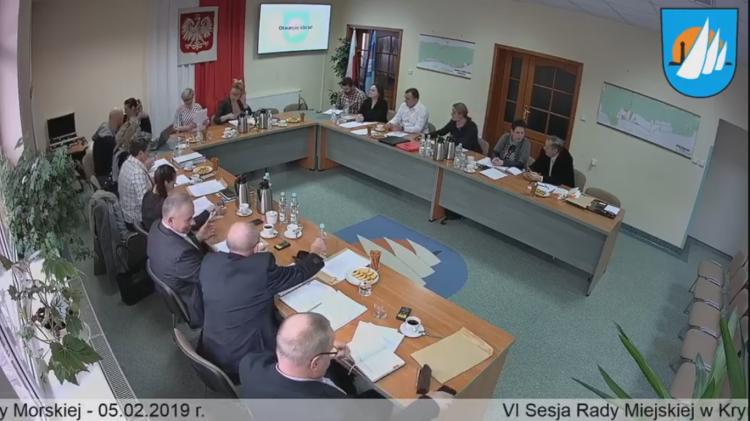 VI Sesja Rady Miejskiej w Krynicy Morskiej. Na żywo.