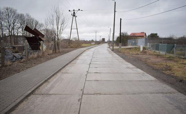 I etap przebudowy ulicy Polnej w Nowym Dworze Gdańskim