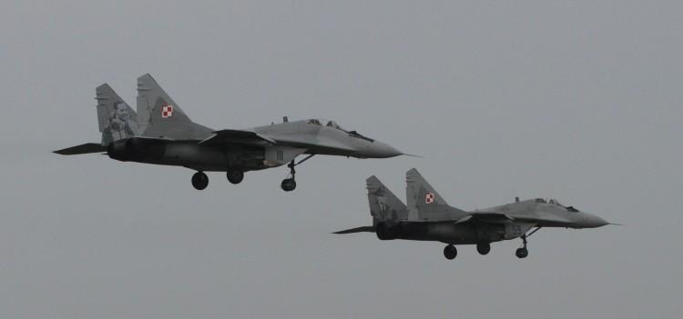 Awaryjne lądowanie MiG-a-29 z 22 Bazy Lotnictwa Taktycznego w Malborku. Pilot w szpitalu