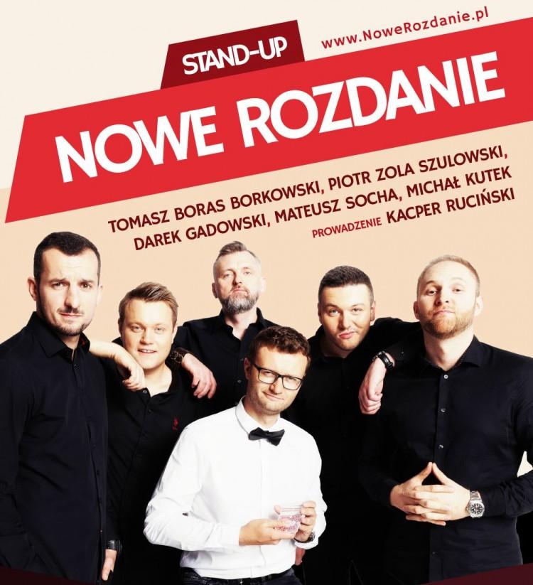 Kacper Ruciński w stand – up na żywo w Tczewie.