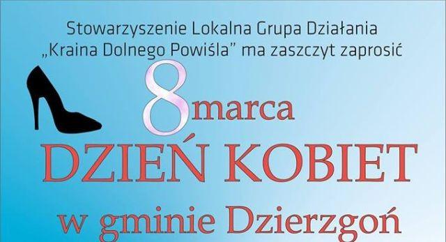 Robert Moskwa wystąpi z okazji Dnia Kobiet w Dzierzgoniu.