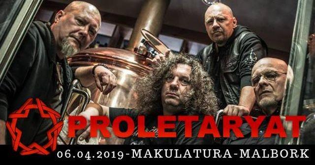 Koncert Proletaryat i Sataran malborska MaKUL@TURA zaprasza.