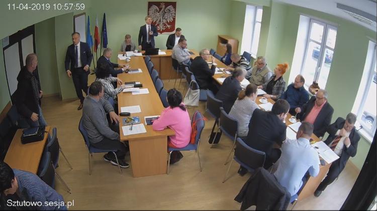 VI sesja Rady Gminy Sztutowo. Zobacz na żywo