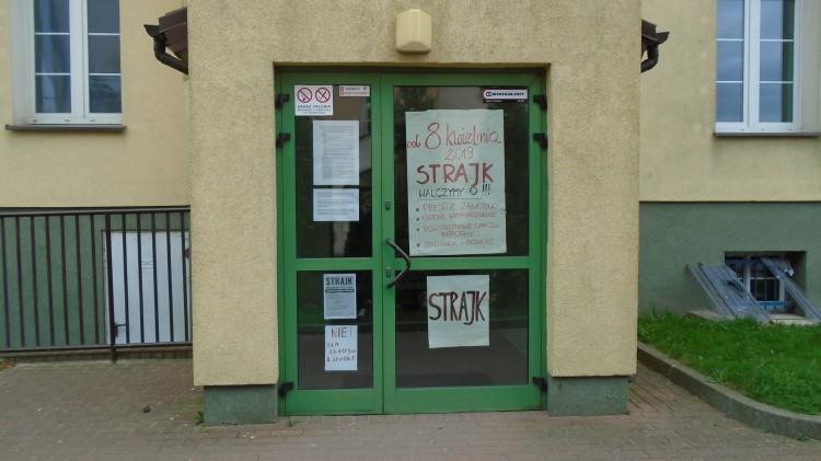 Malborska oświata strajkuje – zobacz galerię zdjęć.