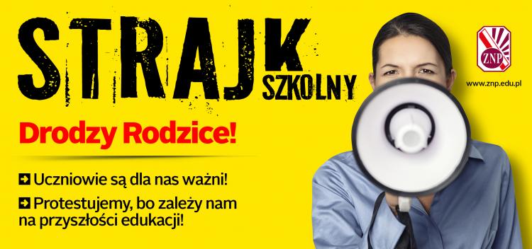 Sytuacja w sztumskich szkołach – 4 dzień strajku nauczycieli.