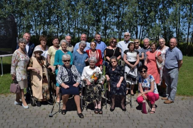 Spotkanie Burmistrza Nowego Dworu Gdańskiego z emerytowanymi nauczycielami.