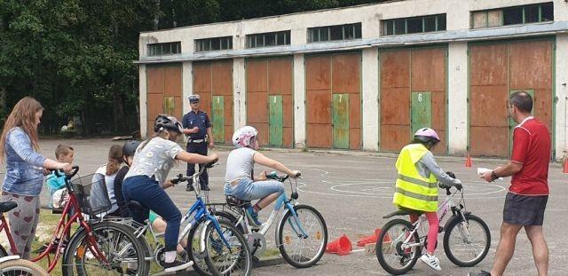 Jantar: Policjanci przeprowadzili egzamin na kartę rowerową