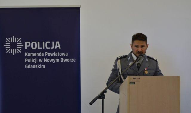 Święto Policji Państwowej w Nowym Dworze Gdańskim