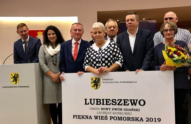 Lubieszewo wygrało 26.edycję Konkursu Piękna Wieś Pomorska.