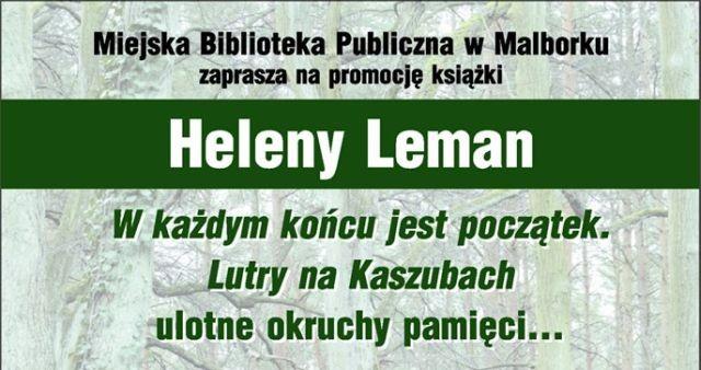 Malbork: Promocja książki Heleny Leman