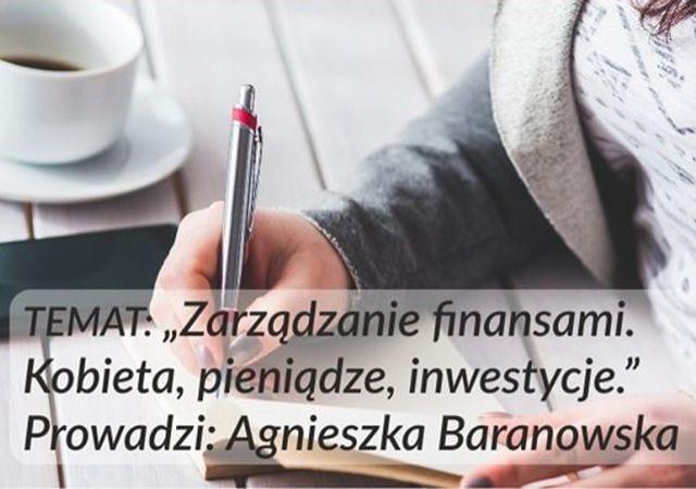 Malbork: Zarządzanie finansami. Kobieta, pieniądze, inwestycje.
