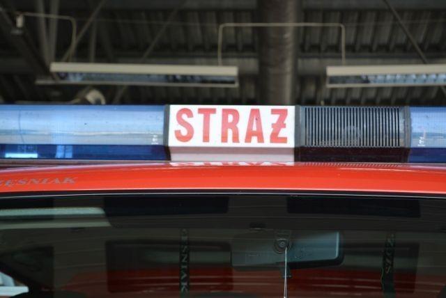 Wypadek drogowy w Kmiecinie - raport nowodworskich służb mundurowych