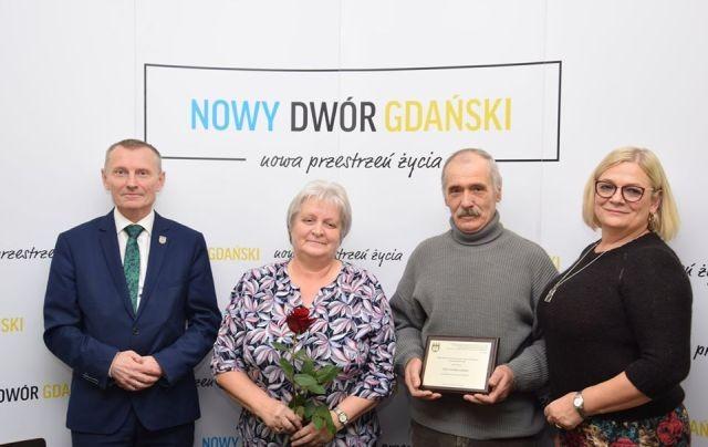 Nowy Dwór Gdański: Wyróżnienia za zasługi na rzecz rolnictwa.