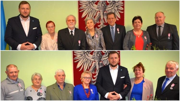Uroczystość wręczenia Medali za Długoletnie Pożycie Małżeńskie dla 6 par z terenu Gminy Sztutowo