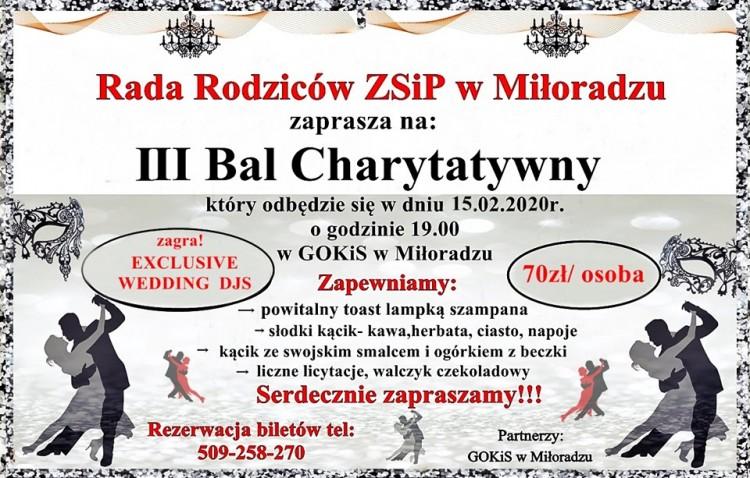 Przeżyj szampańską zabawę karnawałową i weź udział w III Balu Charytatywnym. Szczegóły na plakacie.
