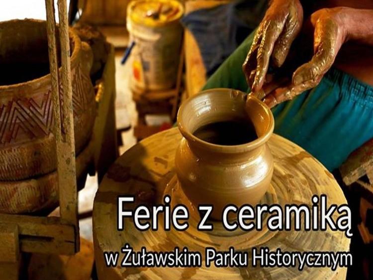 Żuławski Park Historyczny podczas ferii zaprasza na warsztaty ceramiczne.