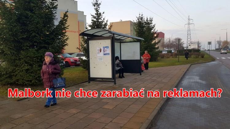 """Malbork nie chce zarabiać na reklamach? """"Jest to dla nas lekceważące""""."""