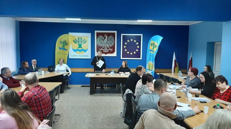 XII nadzwyczajna sesja Rady Gminy Malbork.