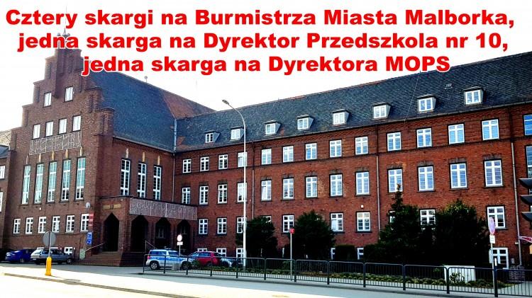 Sprawozdanie z działalności Komisji Skarg, Wniosków i Petycji Rady Miasta Malborka za rok 2019