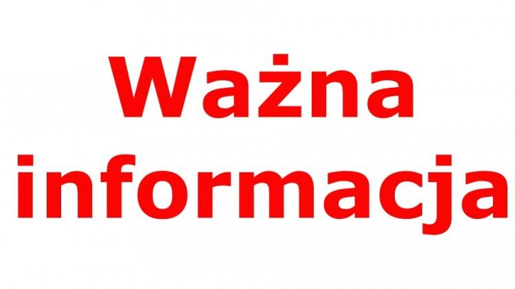 Zmiany organizacji pracy w urzędach i placówkach publicznych na terenie gminy Dzierzgoń.