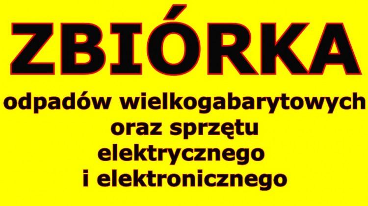 W sobotę odbędzie się zbiórka odpadów wielkogabarytowych oraz zużytego sprzętu elektrycznego i elektronicznego na terenie Gminy Malbork.