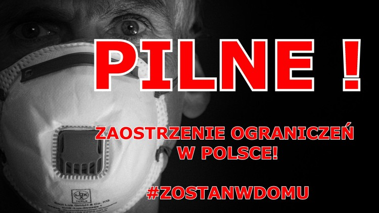 Rząd wprowadza kolejne ograniczenia związane z koronawirusem w Polsce.
