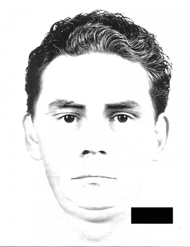 Napadł na aptekę w Malborku. Znasz tego mężczyznę z portretu pamięciowego? Zgłoś to na policję.