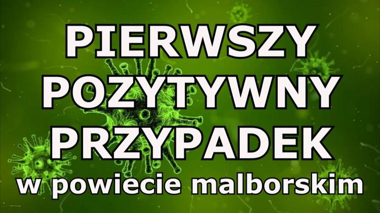 Sanepid potwierdził pierwszy przypadek koronawirusa w powiecie malborskim.